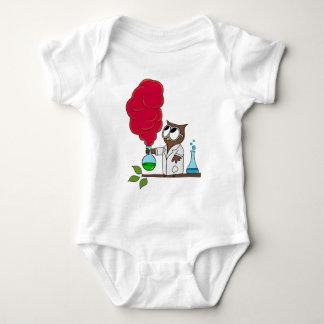 Dr. rer. nat. Owl Baby Strampler