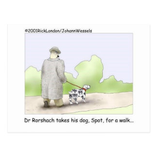 Dr. Roarshach Cartoon Gifts, T-Shirts u. Postkarte