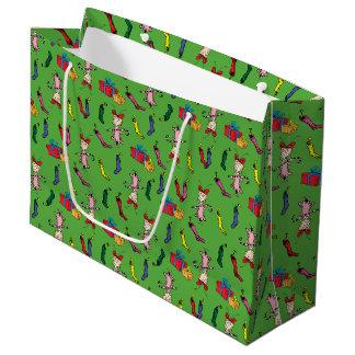 Dr. Seuss | das Grinch | Cindy Lou, die kopieren Große Geschenktüte