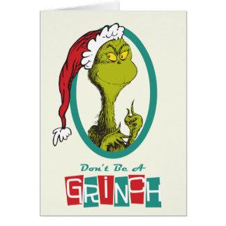 Dr. Seuss | das Grinch Karte
