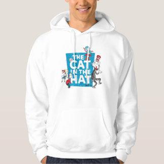 Dr. Seuss | die Katze im Hut-Logo - Charaktere Hoodie