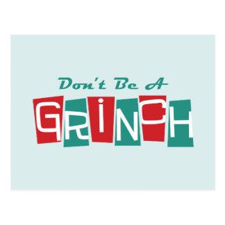 Dr. Seuss | sind nicht ein Grinch Postkarte