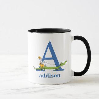 Dr. Seusss ABCs: Beschriften Sie A - Blau | Tasse