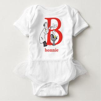 Dr. Seusss ABCs: Buchstabe B - Rot   addieren Baby Strampler