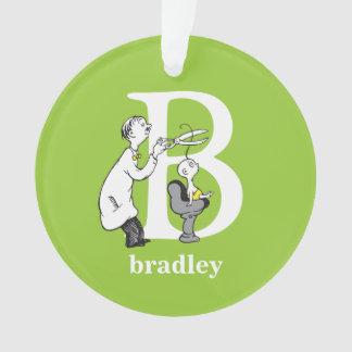 Dr. Seusss ABCs: Buchstabe B - Weiß | addiert Ornament