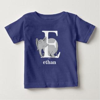 Dr. Seusss ABCs: Buchstabe E - Weiß | addiert Baby T-shirt