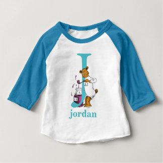 Dr. Seusss ABCs: Buchstabe J - Aquamarine   Baby T-shirt