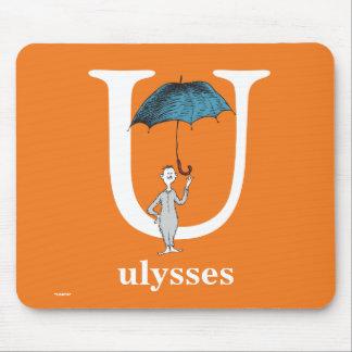 Dr. Seusss ABCs: Buchstabe U - Weiß | addiert Mousepad