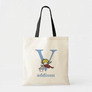 Dr. Seusss ABCs: Buchstabe V - Blau | addiert Tragetasche