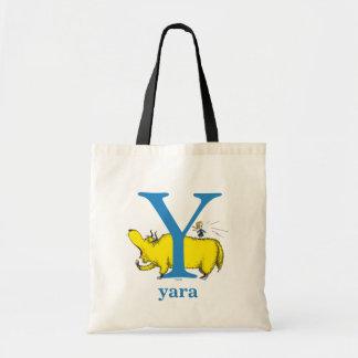 Dr. Seusss ABCs: Buchstabe Y - Blau   addiert Tragetasche