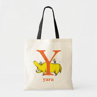 Dr. Seusss ABCs: Buchstabe Y - Orange | addieren Tragetasche