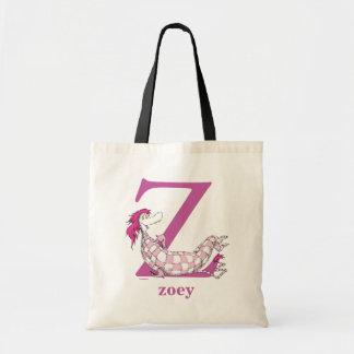 Dr. Seusss ABCs: Buchstabe Z - Lila   addieren Tragetasche