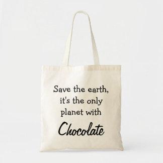 Draagtas satchel quotation chocolate ground