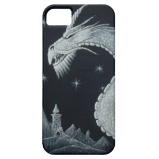 Drache am Nachttelefon-Kasten iPhone 5 Case