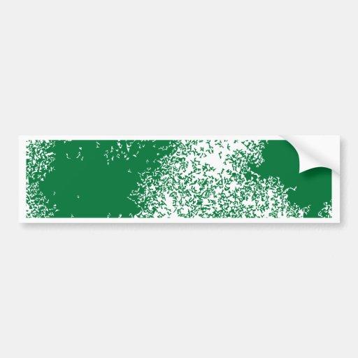 Drache bewölkt 04 im Grün Auto Sticker