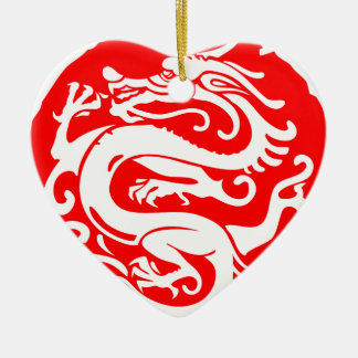 Drache-China Chinaelemente Keramik Ornament