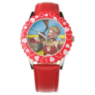 Drache-Dame Armbanduhr