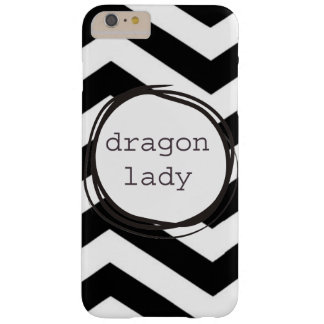 Drache-Dame Barely There iPhone 6 Plus Hülle