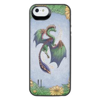 Drache der Sommer-Natur-Fantasie-Kunst iPhone SE/5/5s Batterie Hülle