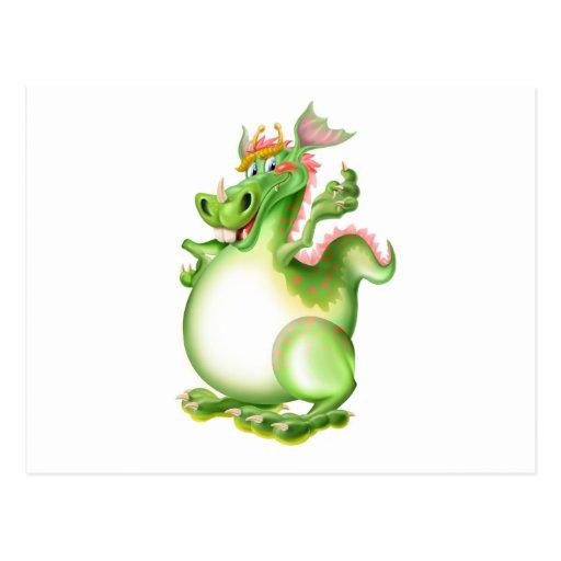 Drache, Drachen, dragão, dragón, Postkarte