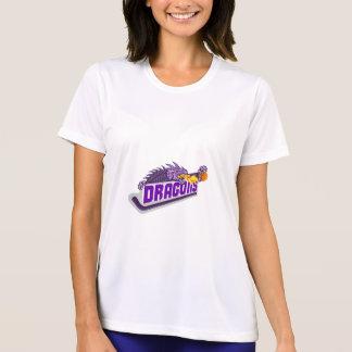 Drache-Feuer-Hockey-Stock-Basketball Retro T-Shirt