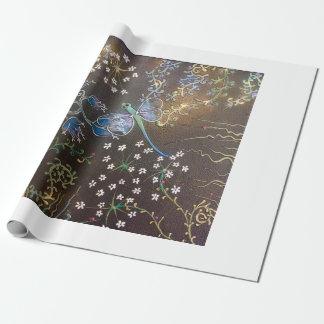 Drache-Fliegengarten Packpapier