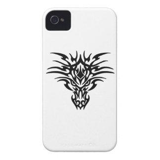 Drache-Gesichts-Tätowierung Case-Mate iPhone 4 Hüllen