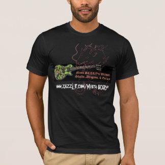 Drache-Gitarre Mista FURCHTSAMER Wickked T-Shirt