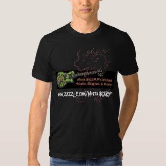 Drache-Gitarre Mista FURCHTSAMER Wickked T-Shirts
