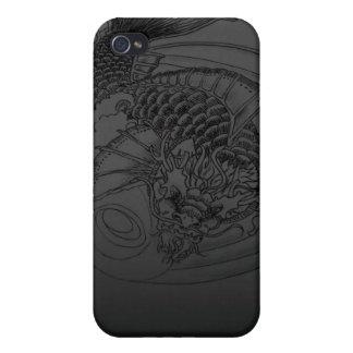Drache Koi Tätowierung Entwurf iPhone 4 Schutzhülle