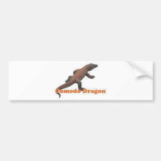 Drache Komodo Reihe Autoaufkleber