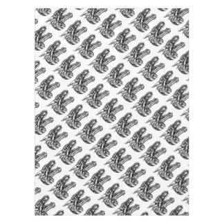 Drache-Kopf-Entwurf Tischdecke