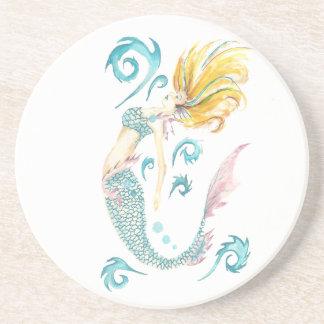 Drache-Meerjungfrau Luna Untersetzer