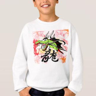 Drache mit Kanji Sweatshirt