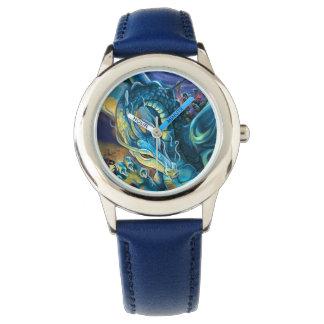 Drache-Reiter und Zauberer Uhr