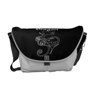 Drache-Rickshaw-Bote-Tasche Kurier Tasche