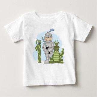 Drache-Ritter-1. Geburtstag Baby T-shirt