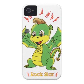 Drache Rockstar™ BlackBerry-mutige Case-Mate kaum iPhone 4 Case-Mate Hülle