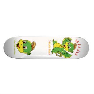 Drache Rockstar™ Skateboard 18,1 Cm Old School Skateboard Deck