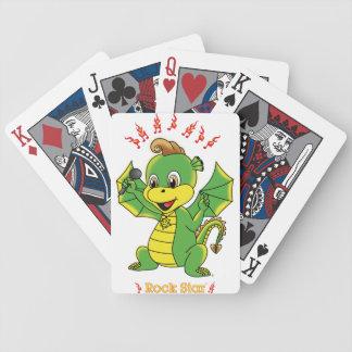 Drache Rockstar™ Poker Karten