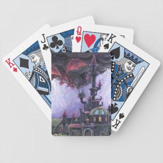 Drache-Schloss Bicycle Spielkarten