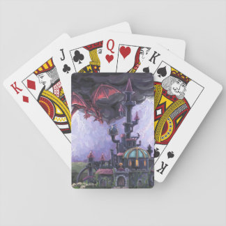 Drache-Schloss Spielkarten