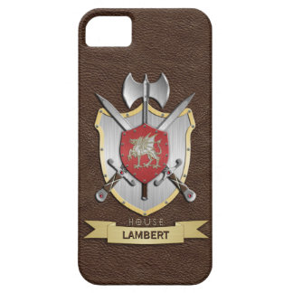Drache Sigil Kampf-Wappen Brown iPhone 5 Case