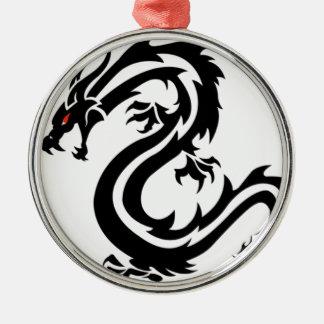 Drache Silbernes Ornament