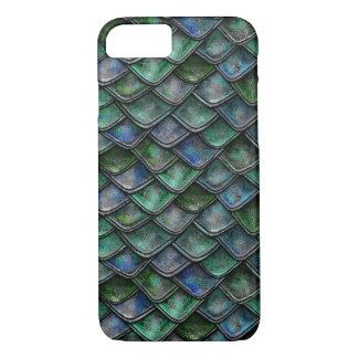Drache-Skalen - Smaragd, grün iPhone 8/7 Hülle