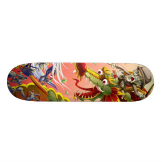 Drache Skateboarddeck
