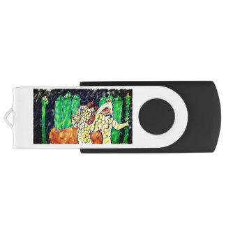 Drache-Smaragd USB Stick