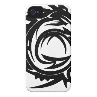 Drache-Stammes- Tätowierung Case-Mate iPhone 4 Hülle