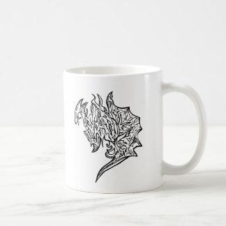 Drache-Tassenweiß Kaffeetasse