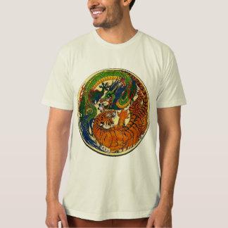 Drache/Tiger Yin Yang Hemd